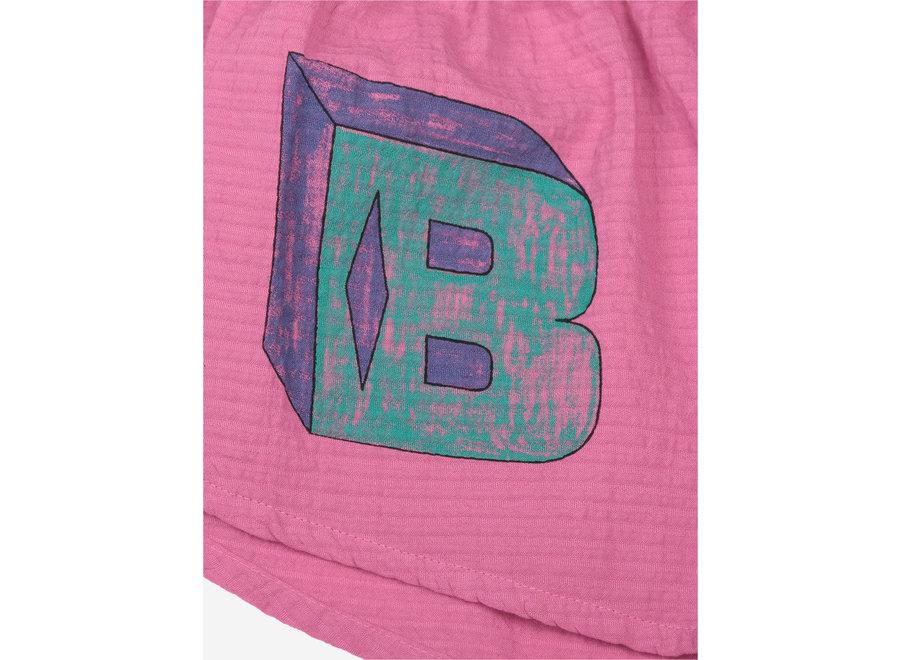 B C Squared Woven Short Dahlia Mauve