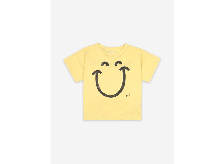 Big Smile Short Sleeve T-Shirt Custard