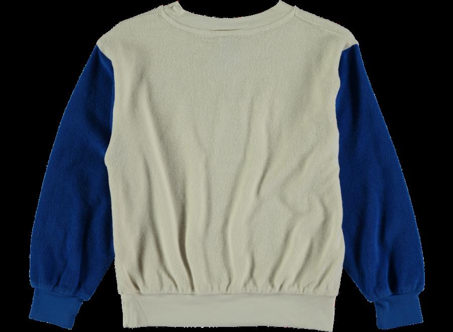 Sweatshirt Terry Bonmot Ivory