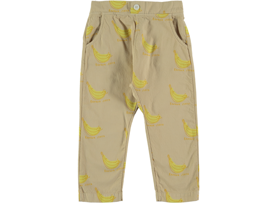 Baggy Trouser Banana Siesta Beige