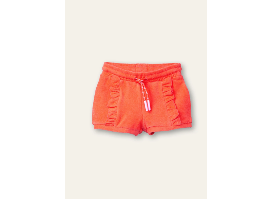 Huffy sweat shorts  solid sweat hot coral