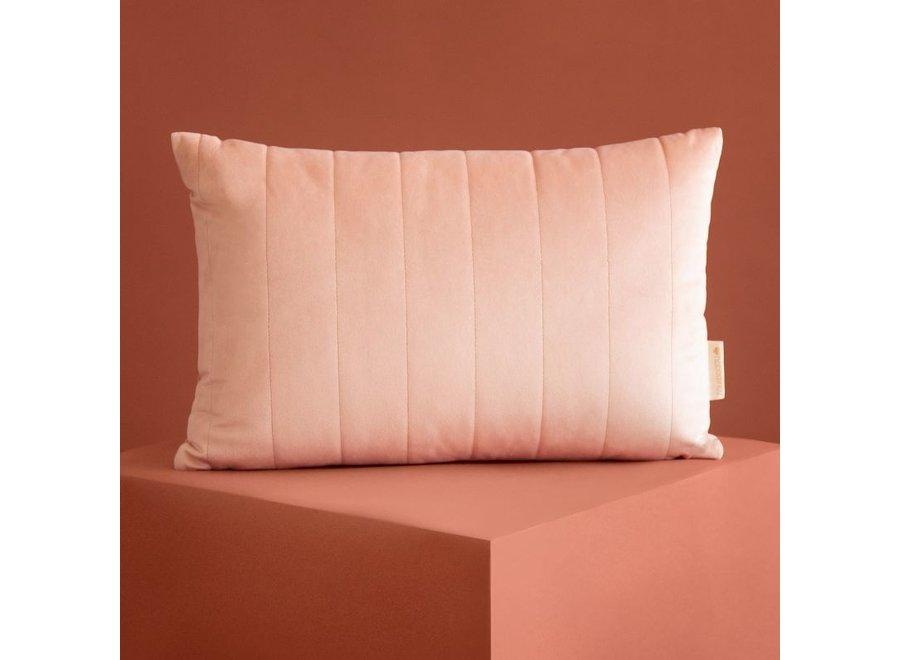Akamba Velvet Cushion 45X30 Bloom Pink