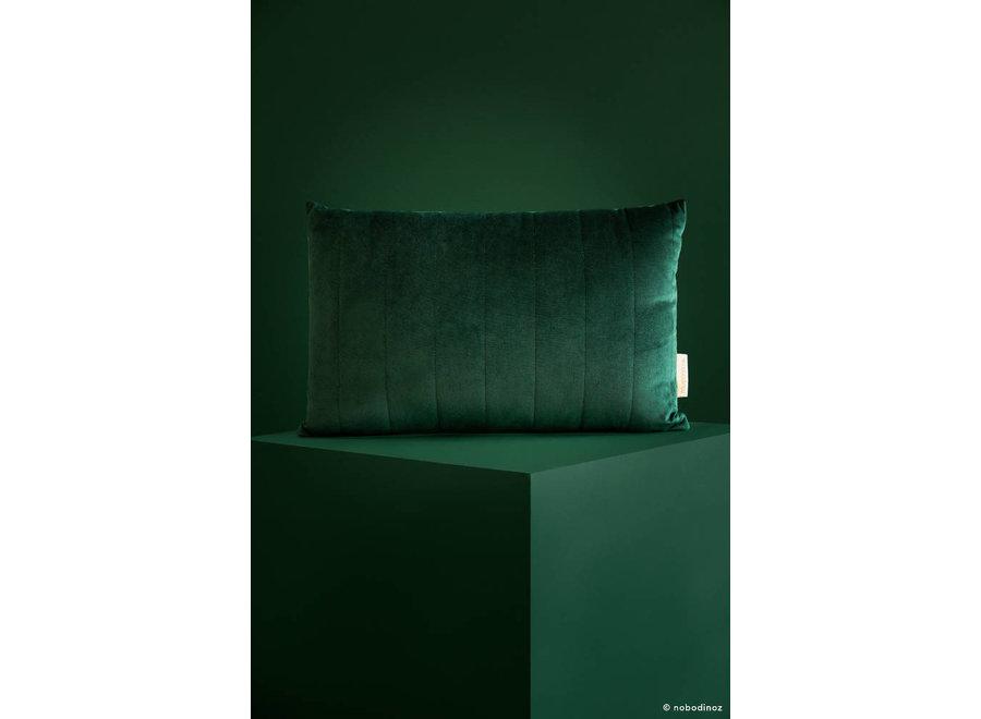 Akamba Velvet Cushion 45X30 Jungle Green