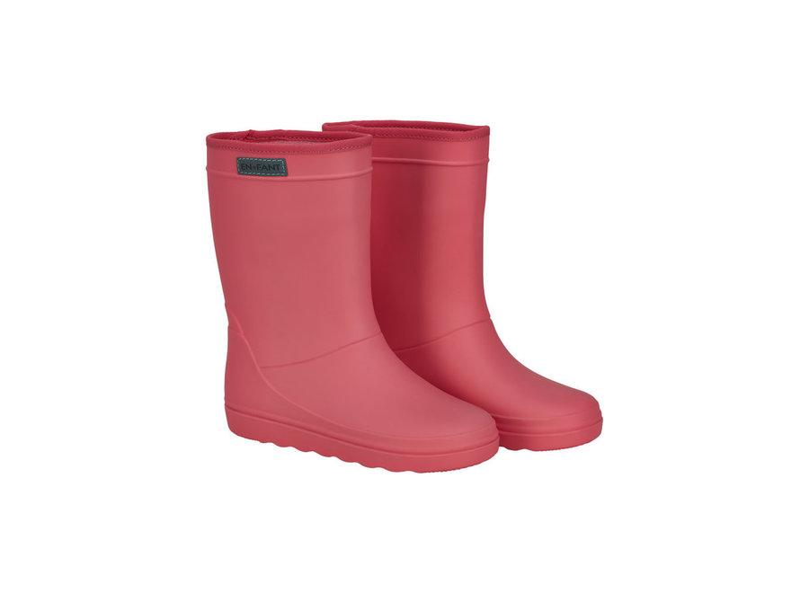 Rubber Rain Boot Solid - Georgia Peach
