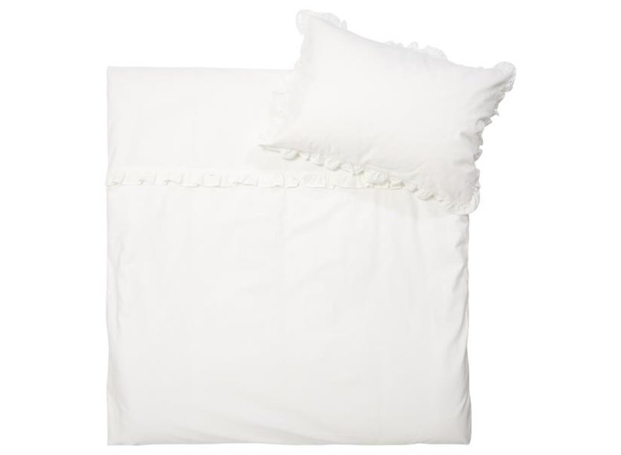 Duvet cover for cot Ruffle
