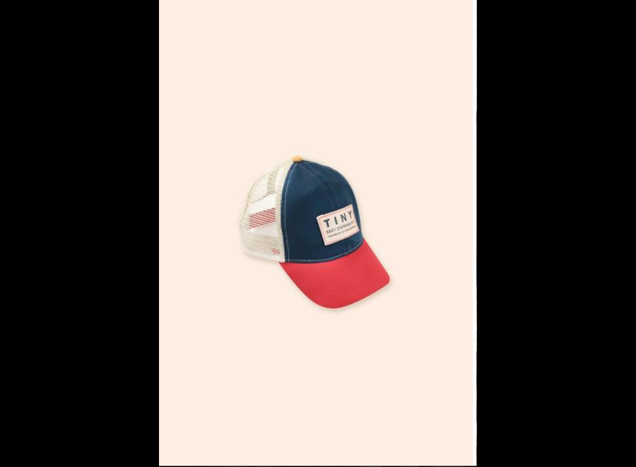 COLOR BLOCK TINY CAP