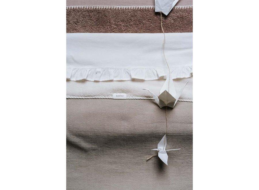 Cot blanket teddy Cairo - Koeka