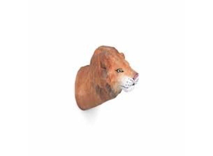 Animal Hand-carved Hook - Lion