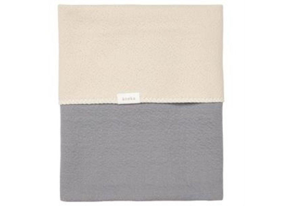 Cot blanket reversible Riga - Koeka