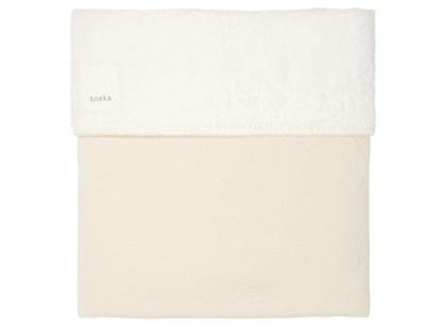 Cot blanket teddy Runa - Koeka