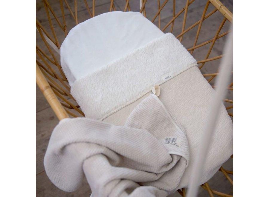 Bassinet blanket teddy Runa - Koeka