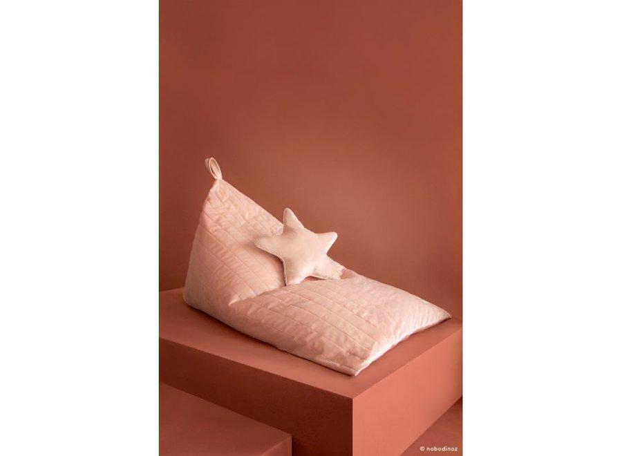 Aristote Star Velvet Cushion 40X40 Bloom Pink