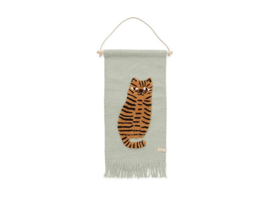 WALLHANGER - TIGER - GREEN