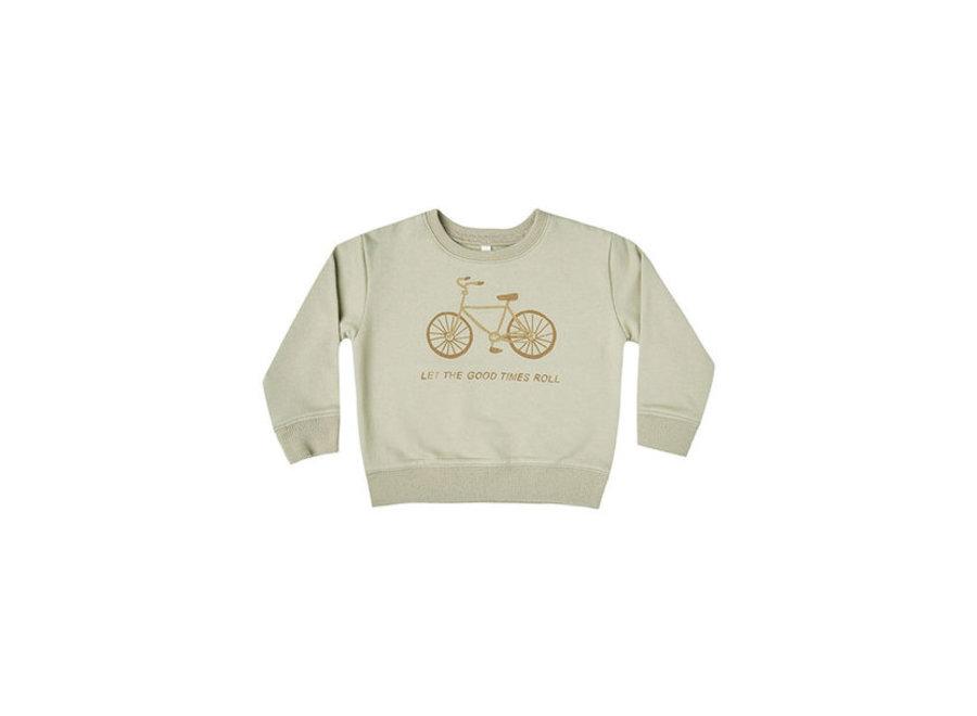 bike terry sweatshirt sage