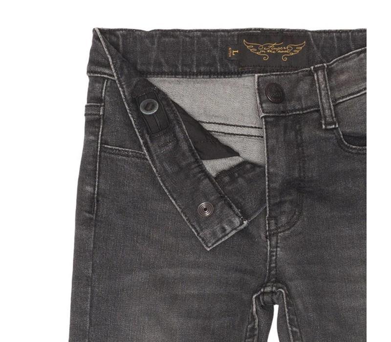 TAMA Stone Black - Girls 'Skinny Fit Jeans