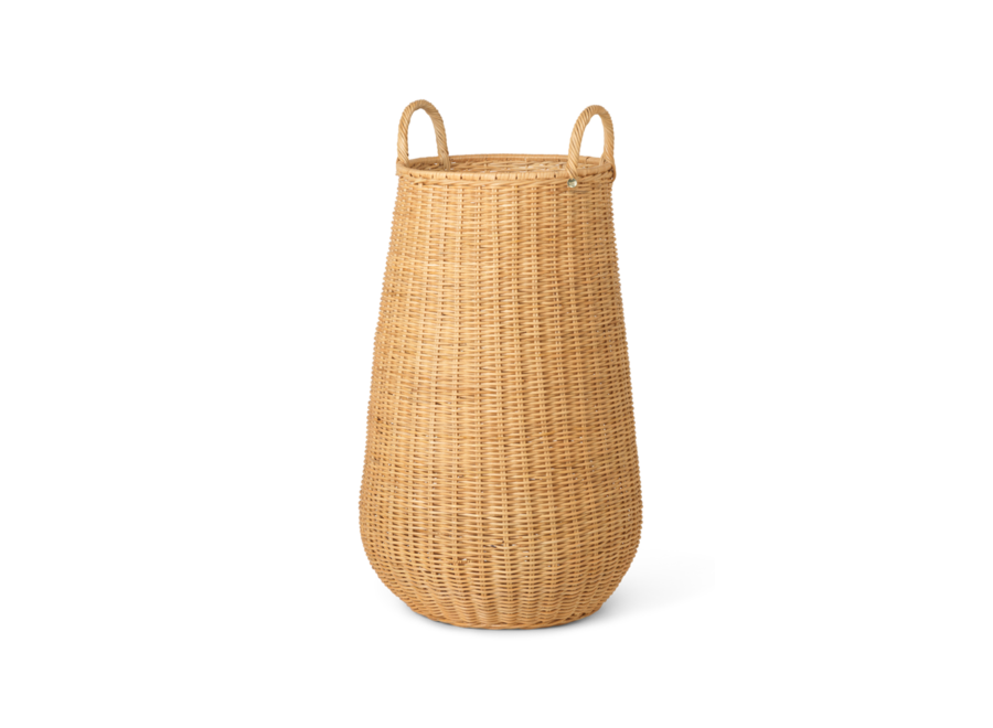 Braided Laundry Basket - Natural