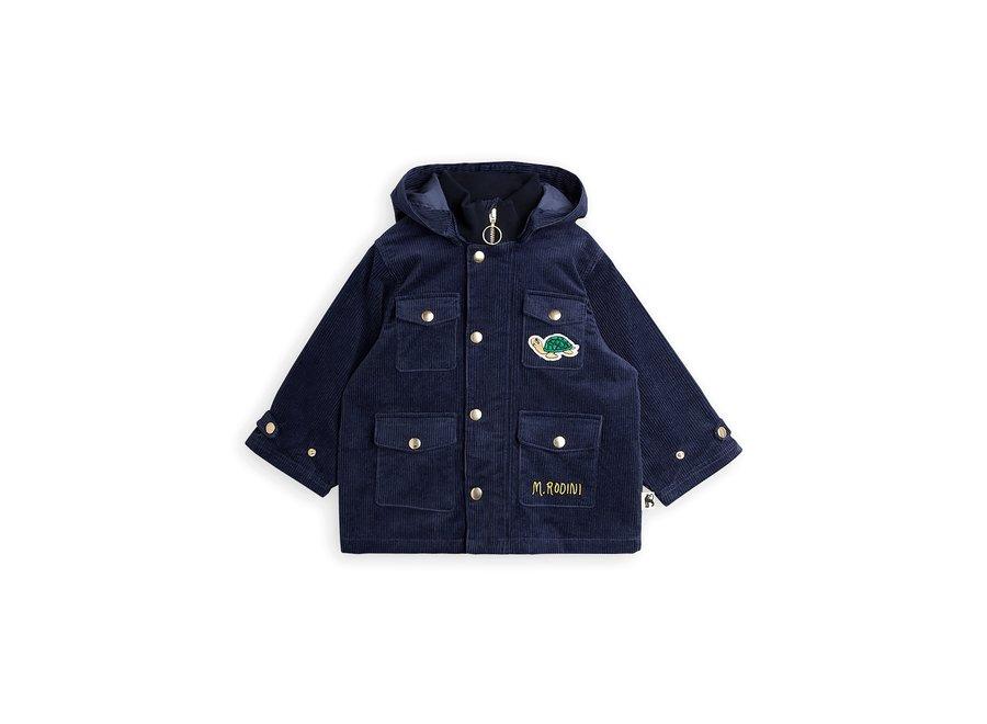 Corduroy Jacket Navy