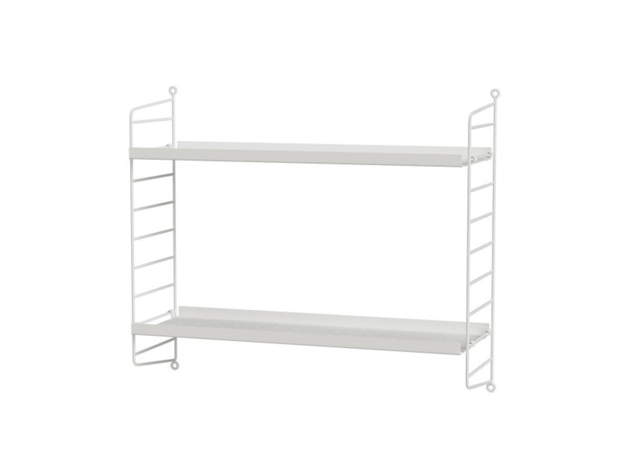 Bedroom B White / White - 60x50x20 cm