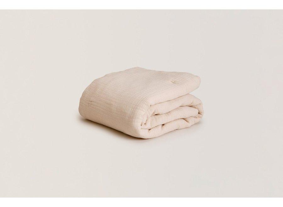 Eggshell Filed Muslin Blanket