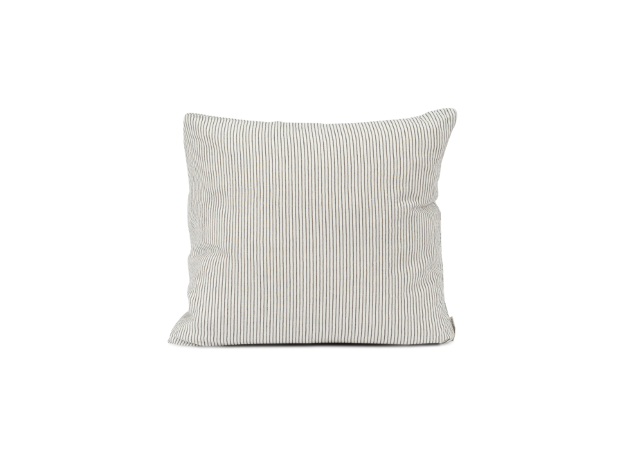 Cot/Lin Pillow - Black Pin