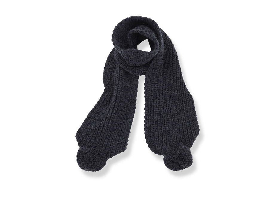Clyde-Bb Scarf Charcoal