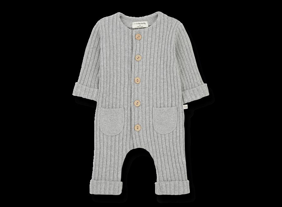 Alain-Nb Jumpsuit Grey