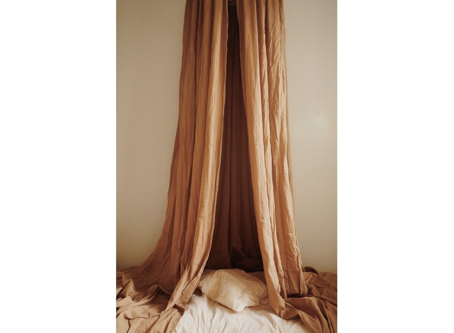 BED CANOPY - ALMOND
