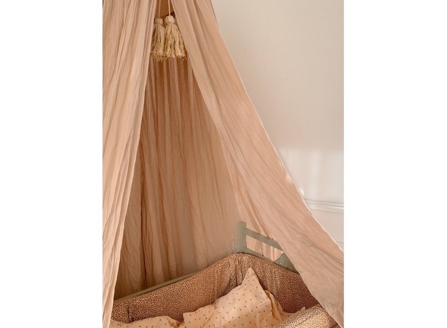 BED CANOPY - ROSE DUST