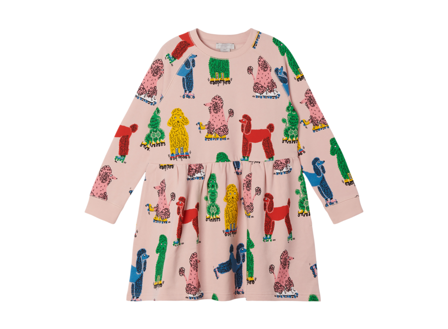 Doodle Poodles Fleece Dress Doodle Poo
