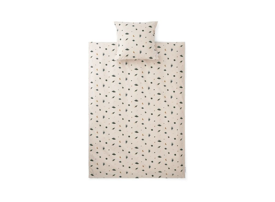 Carl Bed Linen Adult - Space sandy mix