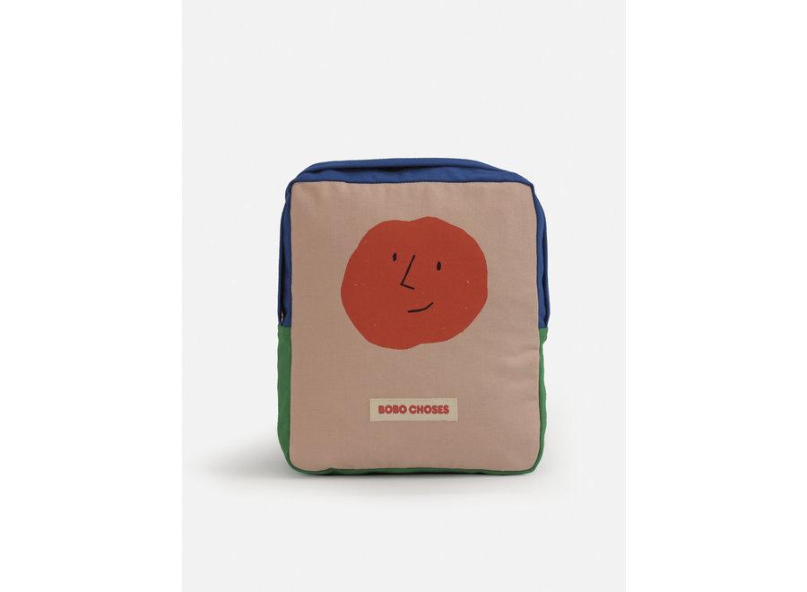 Color Block small school bag Mesa Rose