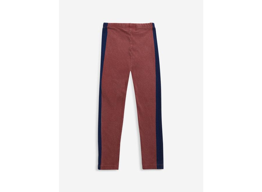 Blue Stripes leggings Tandoori Spice