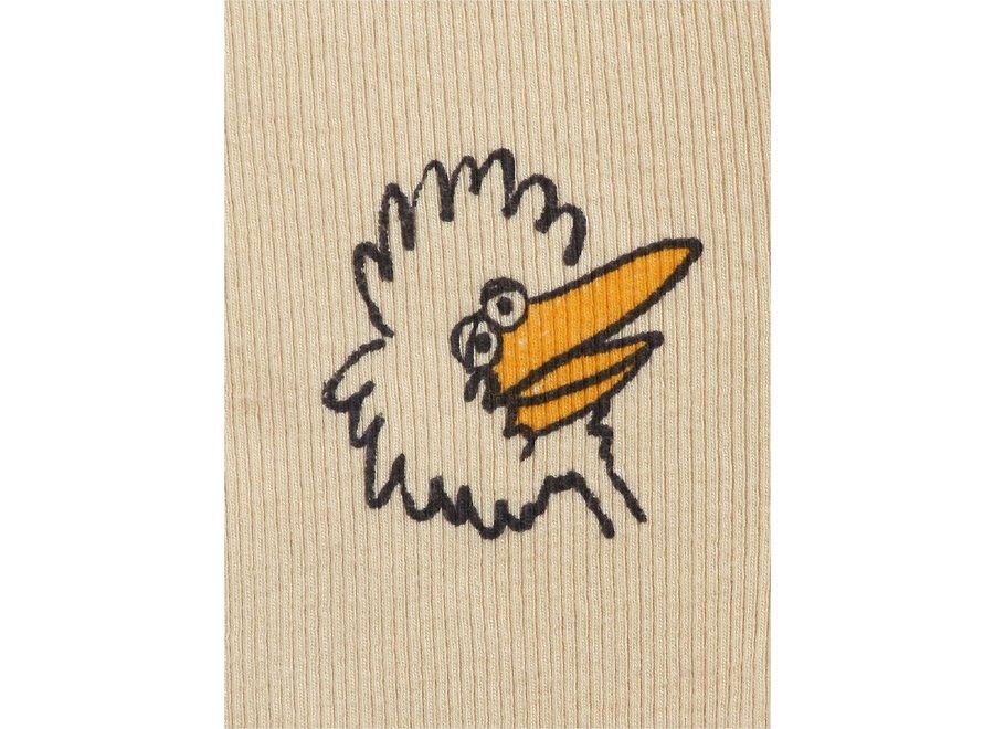 Birdie All Over leggings Soybean