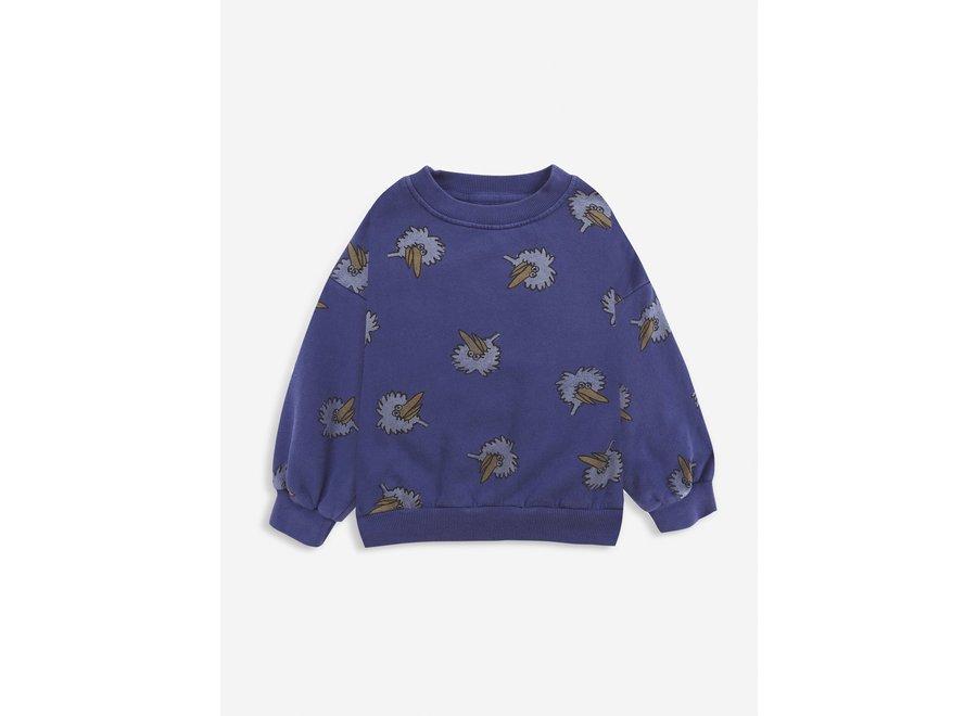 Birdie All Over sweatshirt Royal Blue