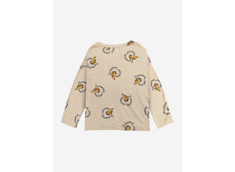 Birdie All Over long sleeve T-shirt Soybean