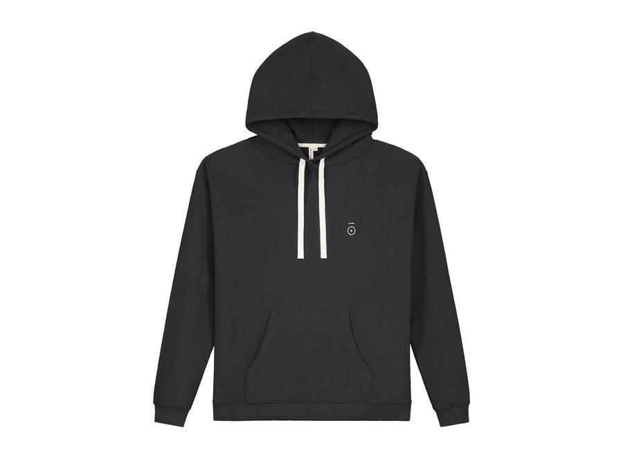 Adult Hoodie GOTS Nearly Black