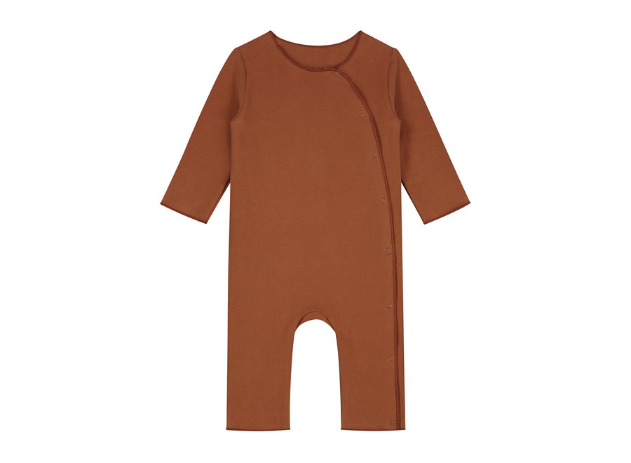 Baby Suit with Snaps GOTS Autumn