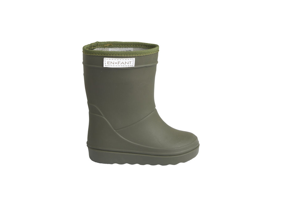 Thermo Boots Dusty Olive