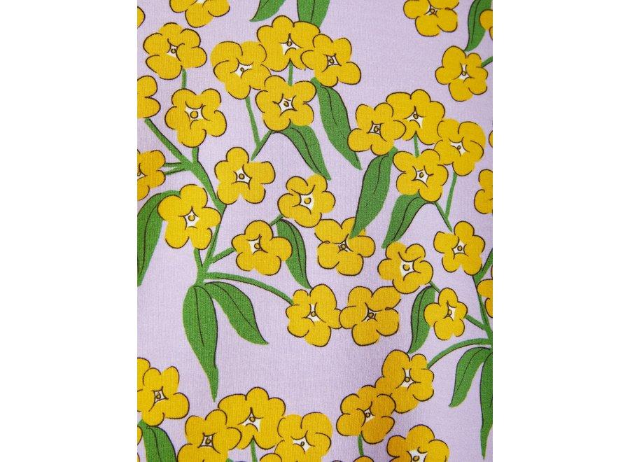 Alpine Flowers Aop Ss Tee Purple