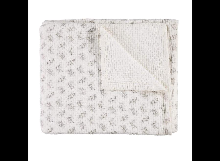 Celia Cross stitch Kantha Blanket W75 x L110cm