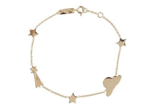 Lennebelle  Stargazer bracelet gold