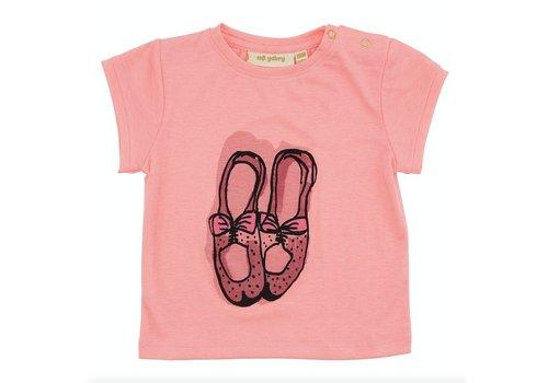 Soft Gallery Nelly T-shirt, Neon Orange, Ballet