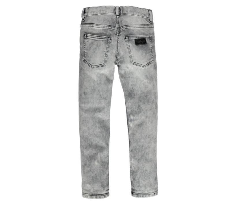 NEW NORTON light black Boy Woven 5 Pockets Straight Fit Jeans