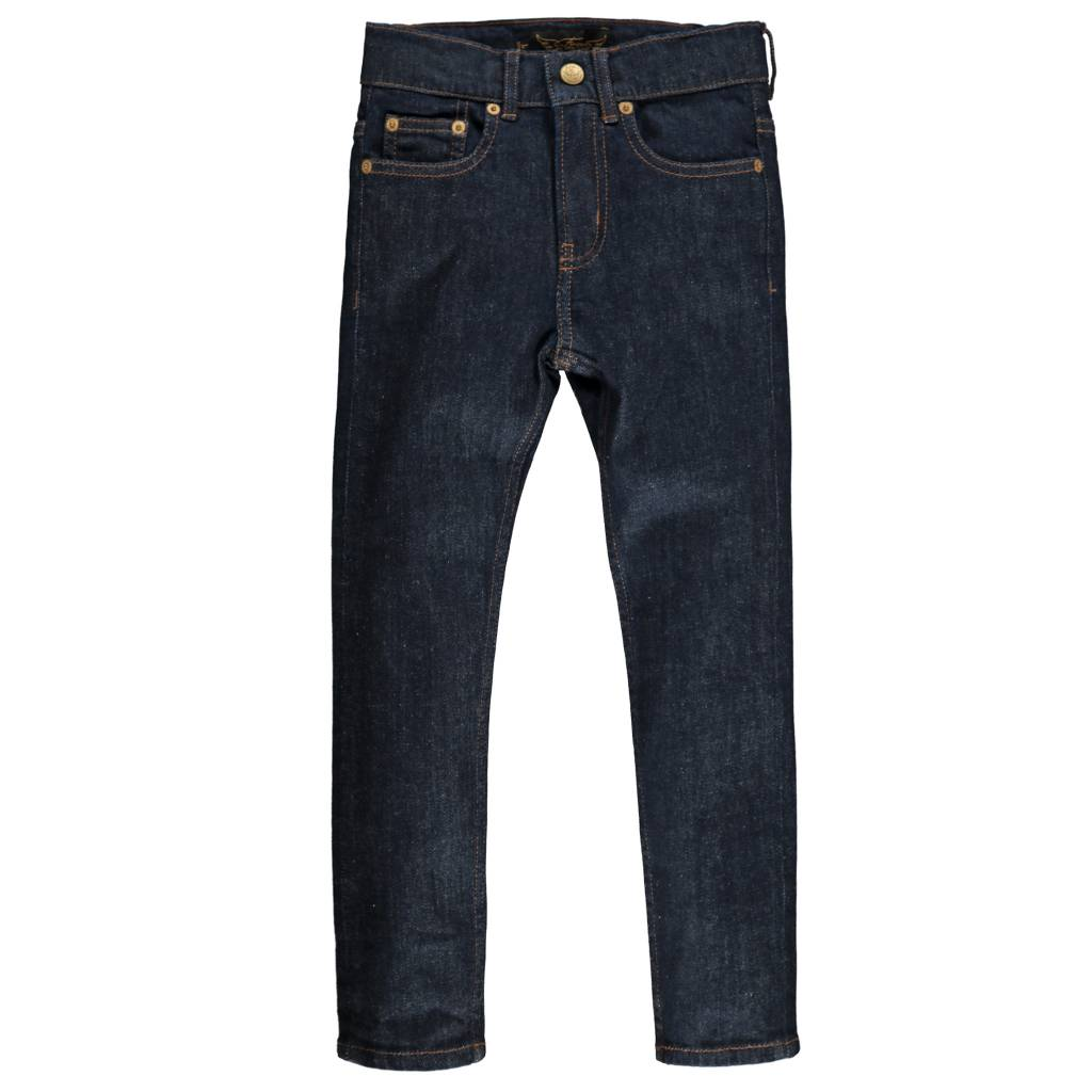 589793768 NEW NORTON raw denim blue Boy Woven 5 Pockets Straight Fit Jeans ...