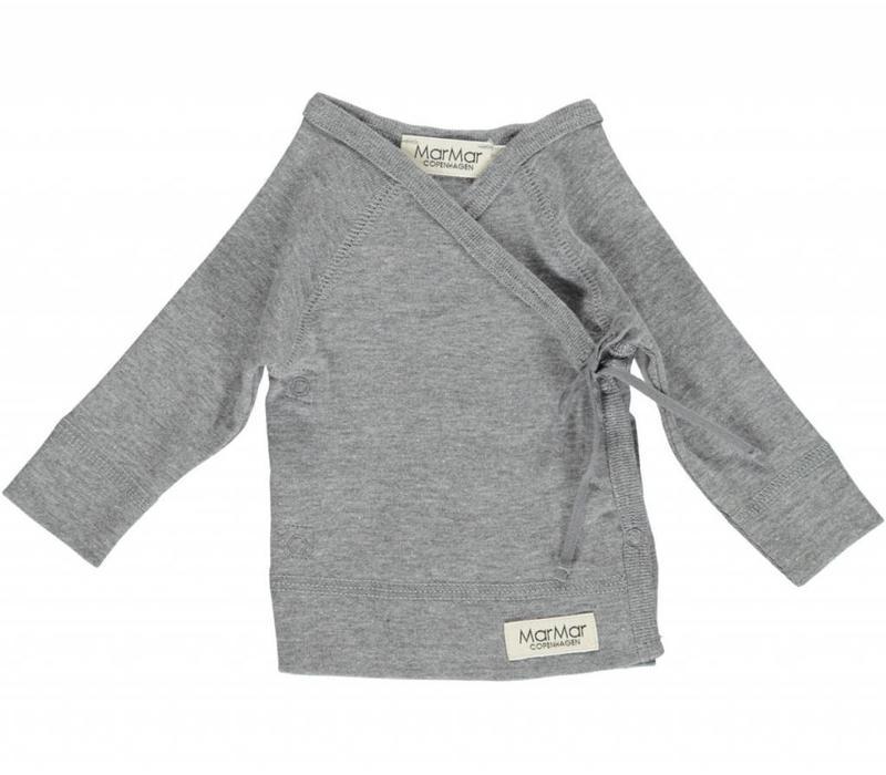 Tut Wrap LS Modal New Born Grey Melange