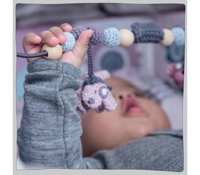 Crochet pram chain boys, tractor