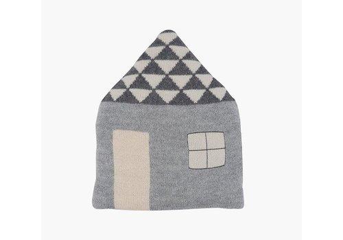LUCKYBOYSUNDAY Favourite Place Pillow grey