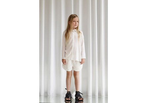 Designers Remix Girls Jr Rion Collar White
