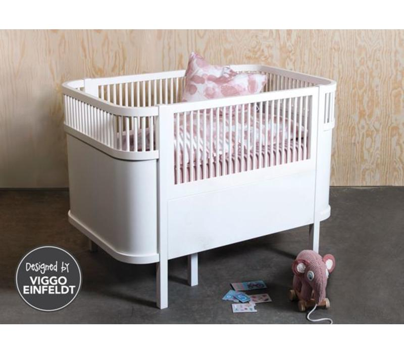 Bed, baby & jr., white