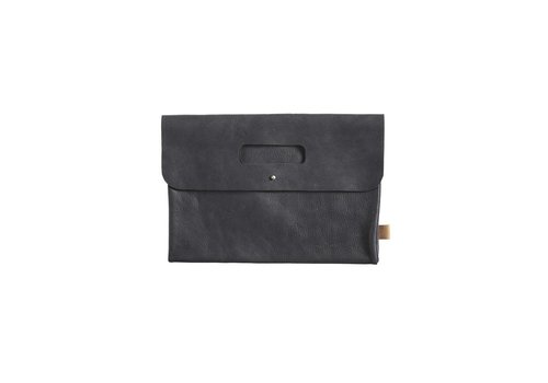 Mies & Co Diaper Clutch leather black